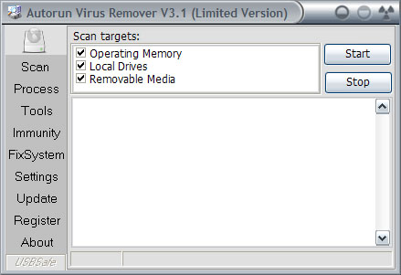 Click to view Autorun Virus Remover screenshots
