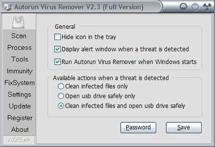 gratuitement autorun virus remover